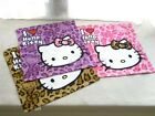 Sanrio Hello Kitty Leopard Face Towel 35 x 35cm, 3 Color Choices - Free Shipping