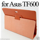 "Flip Faux Leather Case Stand Cover for Asus Vivo RT TF600 TF600T 10.1"" Tab Win 8"