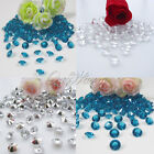 200 Diamond Confetti 8.0mm 2 Carat Wedding Party Table Decoration Popular Colors