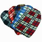 Hot Water Bottle Cover - COMFORT FLEECE TARTAN Design with or without HW BOTTLE