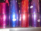 Dazzling Holographic Curling, Balloon Ribbon Stunning, Sparkling occasions, 250y