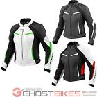 Rev It Xena Ladies Motorcycle Jacket Leather Womens Armour Racing CE Approved