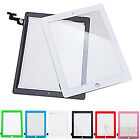 iPad-2 3 4 Mini Air Color Replacement Touch Screen Glass Digitizer w/ Repair Kit