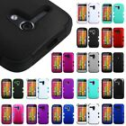 For Motorola Moto G Tuff Hard Rubberized Skin Hybrid Case Cover