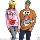 CL275 Mr. or Mrs. Potato Head Adult Funny Couples Fancy Dress Costume Kit