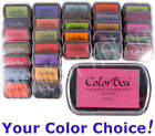Colorbox PIGMENT Inkpad (COLORS M thru Z) archival opaque ink rubber stamp pad