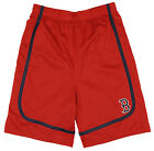 MLB Baseball Boston Red Sox Little Boys Kids / Youth Boys Team Color Shorts, Red