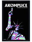 Akomplice Black Wooden Framed Statue of Liberty Maxi Poster 61x91.5cm