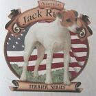 NEW! Patriotic AMERICAN JACK RUSSELL TERRIER SERIES Dog T-Shirt - Size M - XL