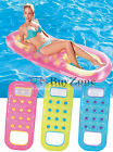 Inflatable Pocket Fashion Designer Lounger Lilo Pool Float Air Bed Mat Suntanner