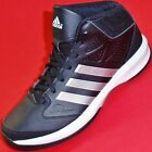 NEW Mens ADIDAS ISOLATION Black/White Athlectic Basketball Casual Sneaker Shoes