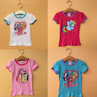 Girl Kids My Little Pony Character Cartoon Casual Summer Tops Shirt T-shirt 2-5Y