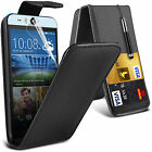 PU Leather Card Slot Flip Case Cover, LCD Film & Stylus Pen For HTC Desire 820