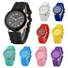 Jewelry Watches - Colorful Unisex Men Women Silicone Jelly Quartz Analog Sports Wrist Watch New