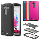 Hybrid Durable TPU + PC Case Cover Skin with Built in Screen Protector For LG G3