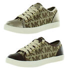 Michael Kors City Women's Canvas Sneakers Shoes Signature Print