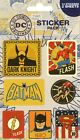 DC Comics Retro Sticker Pack 10x17cm