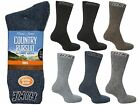 3 Mens David James® Cotton Blend Outdoor Hike Boot Socks / UK 6-11