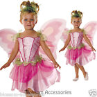 CK346 Springtime Fairy Costume Kids Girls Toddler Pixie Angel Fancy Dress + Wing
