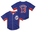 Majestic MLB Baseball Kids Chicago Cubs Starlin Castro # 13 Player Jersey - Blue
