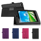 "Folio PU Leather Smart Case Stand Cover for 7"" Acer Iconia One 7 B1-730HD Tablet"
