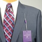 44R SAVILE ROW Slate Blue SUIT SEPARATE  44 Regular Mens Suits - SS23