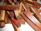 Cocobolo Rosewood Pen Blanks with white wood-100 pieces @ 3/4