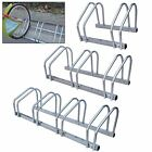 2/3/4 BIKE FLOOR WALL MOUNT BICYCLE CYCLE RACK STORAGE LOCKING STAND GARAGE SHED