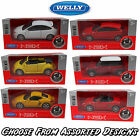 WELLY NEX 12cm Pull Back Diecast Scale Model Cars - Assorted