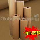 STRONG BROWN KRAFT WRAPPING PARCEL PAPER 90GSM FREE P&amp;P <br/> MULTI LISTING - ALL WIDTHS / LENGTHS AVAILABLE