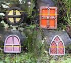 NEW RUBBER LATEX MOULD MOULDS MOLD FAIRY FAERIE FAIRIE WINDOW FOR DOOR 4 DESIGNS