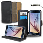 FLIP WALLET LEATHER CASE COVER For SAMSUNG GALAXY S6 G9200 FREE SCREEN PROTECTOR