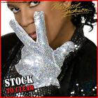 Fancy Dress OFFICIAL MICHAEL JACKSON SEQUIN GLOVE