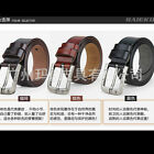 P-840 New Men's 2015 Genuine Leather Waist Stylish Fashion Belt Free Shipping