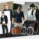 P-837 New Men's 2015 Genuine Leather Waist Stylish Fashion Belt Free Shipping