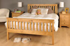 Double Bed Pine 4ft6 Double Bed Wooden Frame Pine