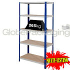 SUPER HEAVY DUTY SHELVING STORAGE RACKING WAREHOUSE GARAGE 1770x900x450mm 265KG