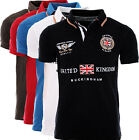 GEOGRAPHICAL NORWAY HERREN POLO SHIRT T-SHIRT PIQUE SOMMER KURZARM POLO CLUB