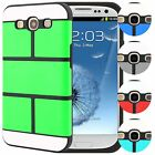 Hybrid TPU Slim Fit Armor Case Cover for Samsung Galaxy SIII S3