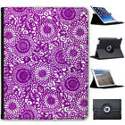 Japanese Art Hippy Swirls Folio Cover Leather Case For Apple iPad