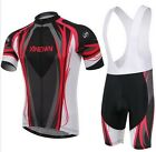 New Hot Sale Cycling Bike Short Sleeve Clothing Bicycle Jersey Bib Shorts S-4XL