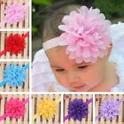Hot Kid Girls Baby Toddler Infant Big Flower Headband Hair Bow Band Headwear J61