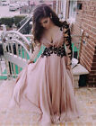 Sexy Lace Long Sleeve SUMMER Formal Wedding Prom Party Evening Gown Long Dress