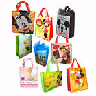 DISNEY MICKEY MINNIE TINKERBELL REUSABLE BEACH SHOPPING TOTE BAG PARTY GIFT BAGS
