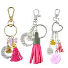 1PC Mother's Day Gift Keychain Keyring I Love You Mom Tassel Decoration Fahion