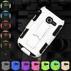 Full Armor Impact Hybrid Case Belt Clip Holster For Samsung Galaxy Centura S738C