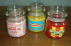SWIZZLERS ~ JAR CANDLES ~ RETRO SWEETS/CANDY SCENTS ~ DRUMSTICK, REFRESHERS ETC.