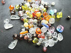 4-9mm 30/50/100/200grams VARIOUS SHAPES ASSORTED ACRYLIC SPACER BEAD LOT CC4580