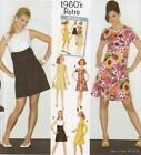 Simplicity 3833 SEWING PATTERN 6-8-10-12-14 1960s Retro/Vintage Shift Dress 60s