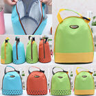 Hot Insulated Lunch Bag Cool Tote Cooler Canvas Thermal Picnic Food Drink Holder